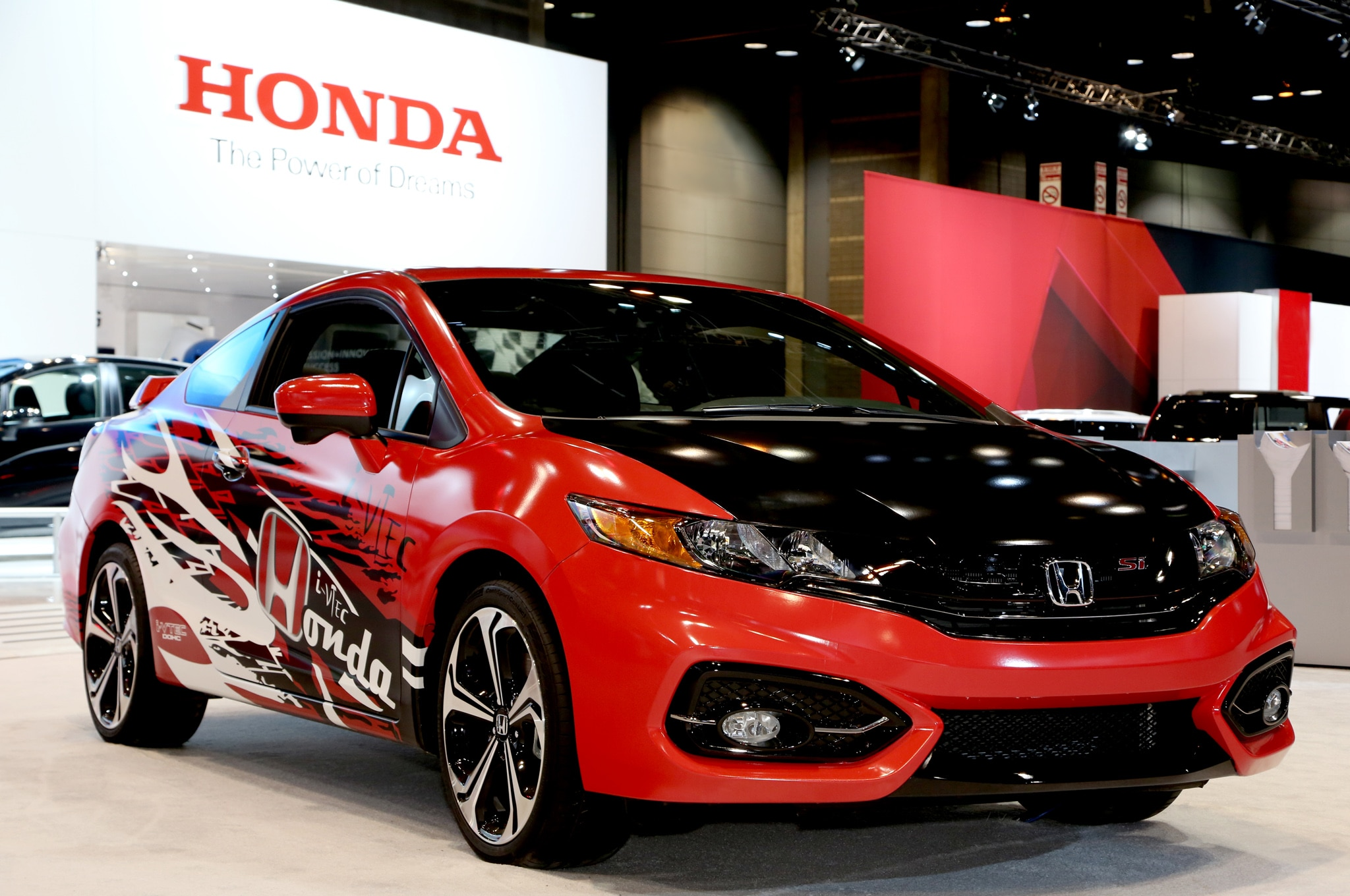 2014 Honda Civic Si Coupe Forza Design Chicago Front Three Quarter1