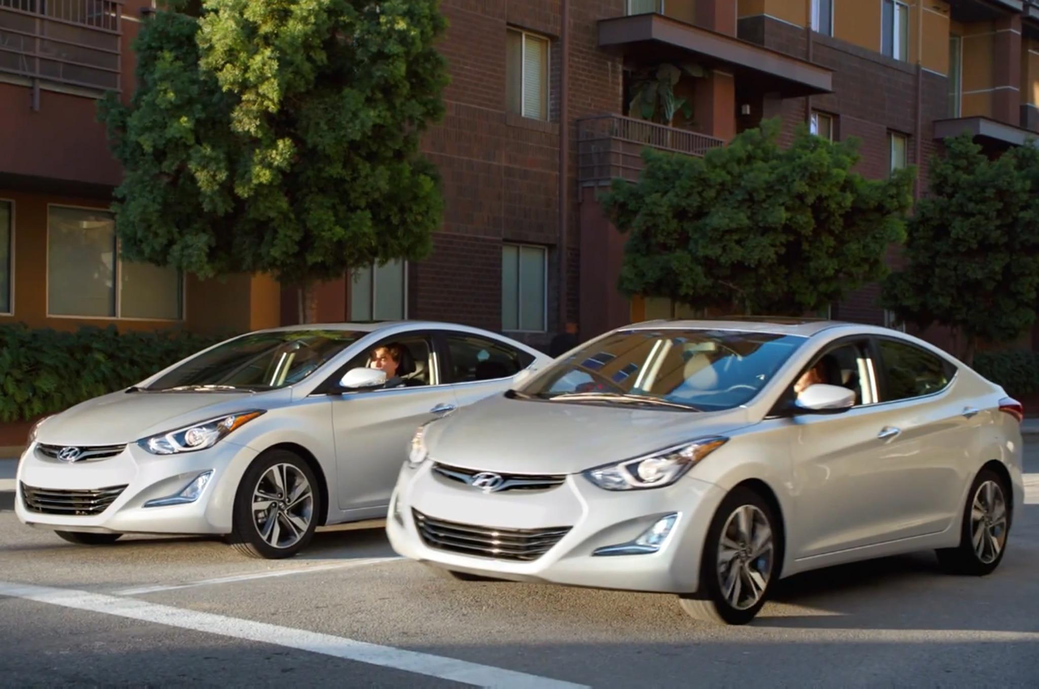 2014 Hyundai Elantra Super Bowl Pair