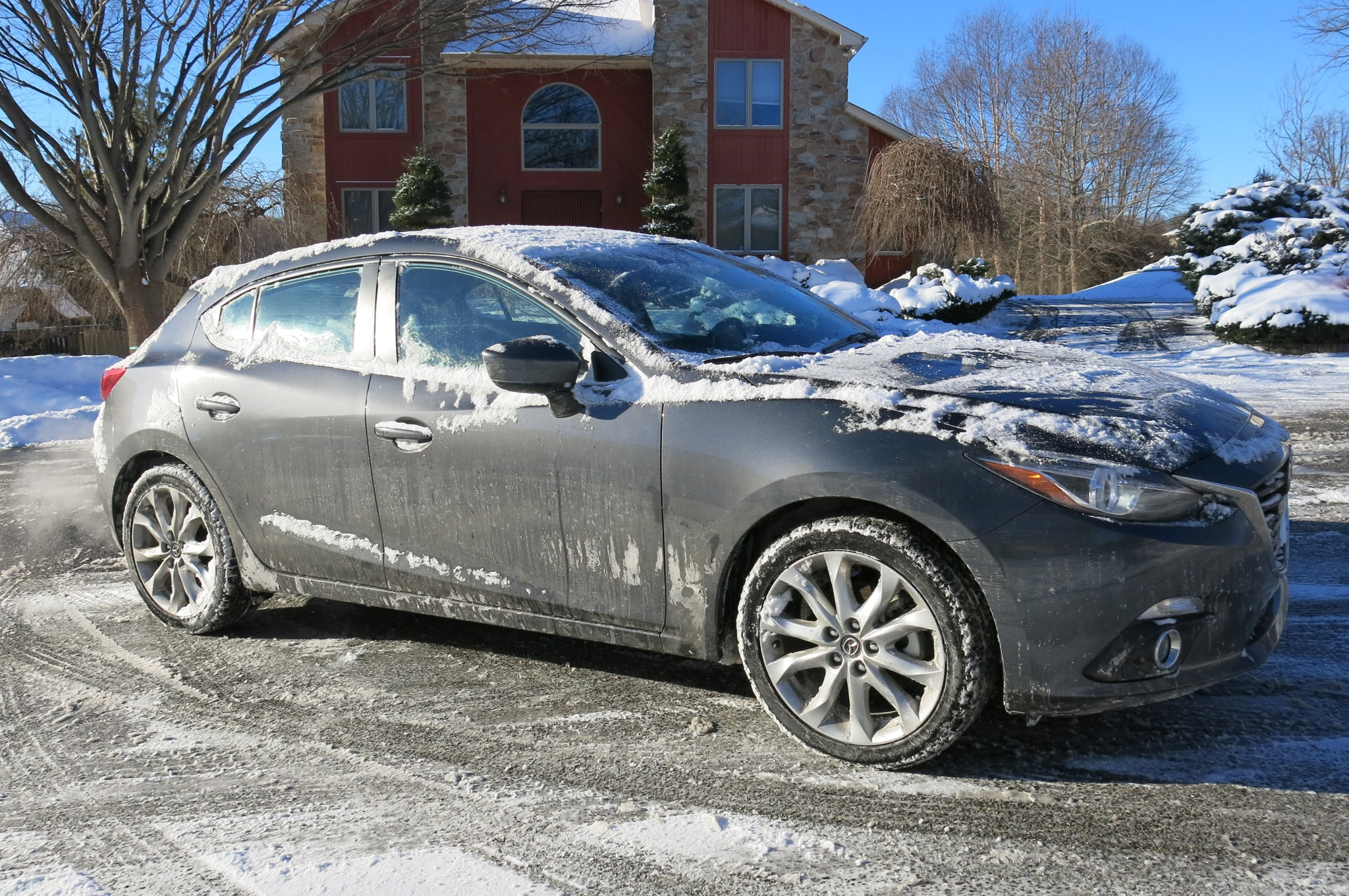 2014 Mazda3 S Touring Four Seasons Winter Side 2