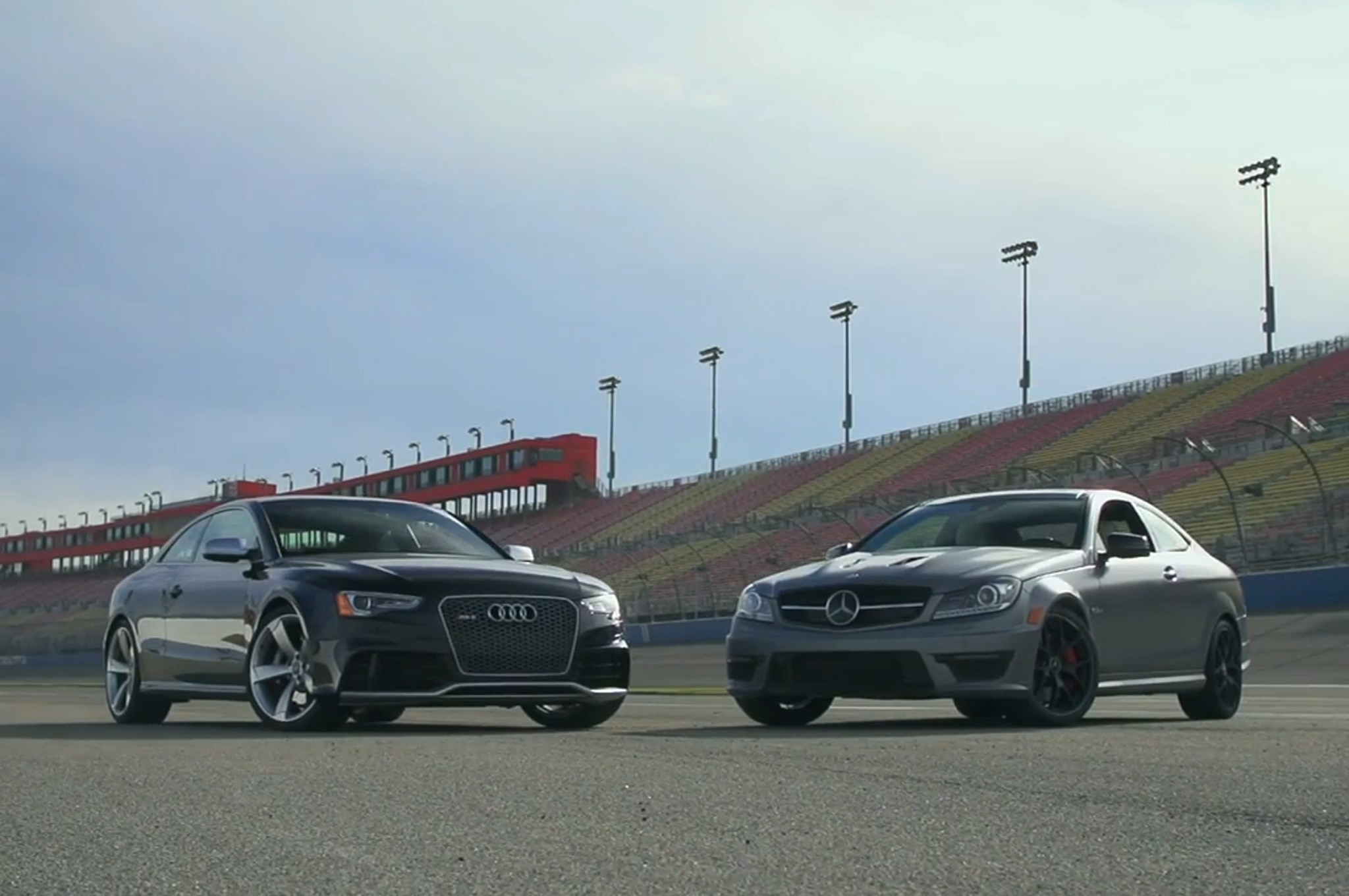 2014 Mercedes Benz C63 Amg 507 Coupe And 2014 Audi Rs5 Coupe