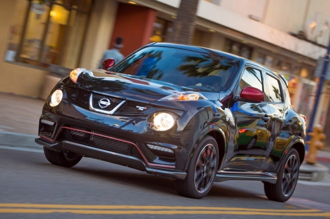 2014 Nissan Juke Nismo Rs Front Three Quarters View1 660x438