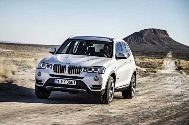2015 BMW X3 Front End In Motion 021 660x439
