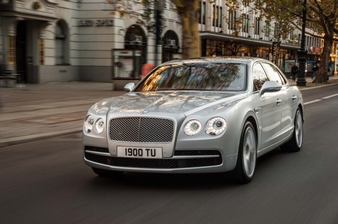 2015 Bentley Flying Spur V8 Front Three Quarters1 660x439
