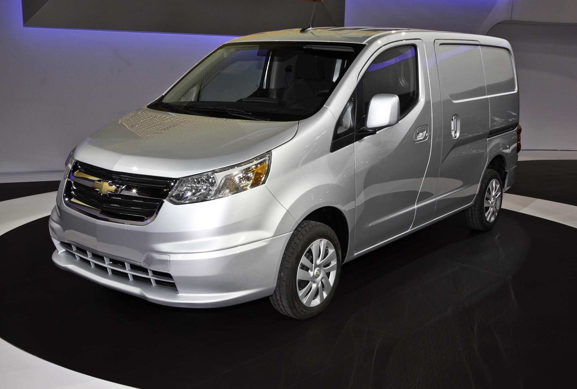 2015 chevrolet city express to debut at 2014 chicago auto show automobile magazine. Black Bedroom Furniture Sets. Home Design Ideas