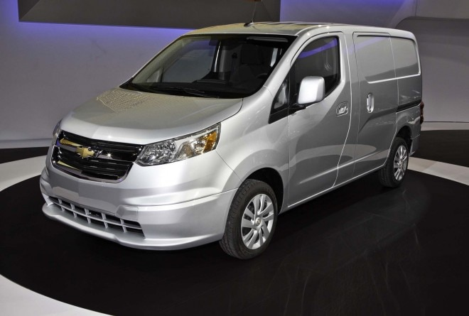 2015 Chevrolet City Express Front Three Quarters2 660x445