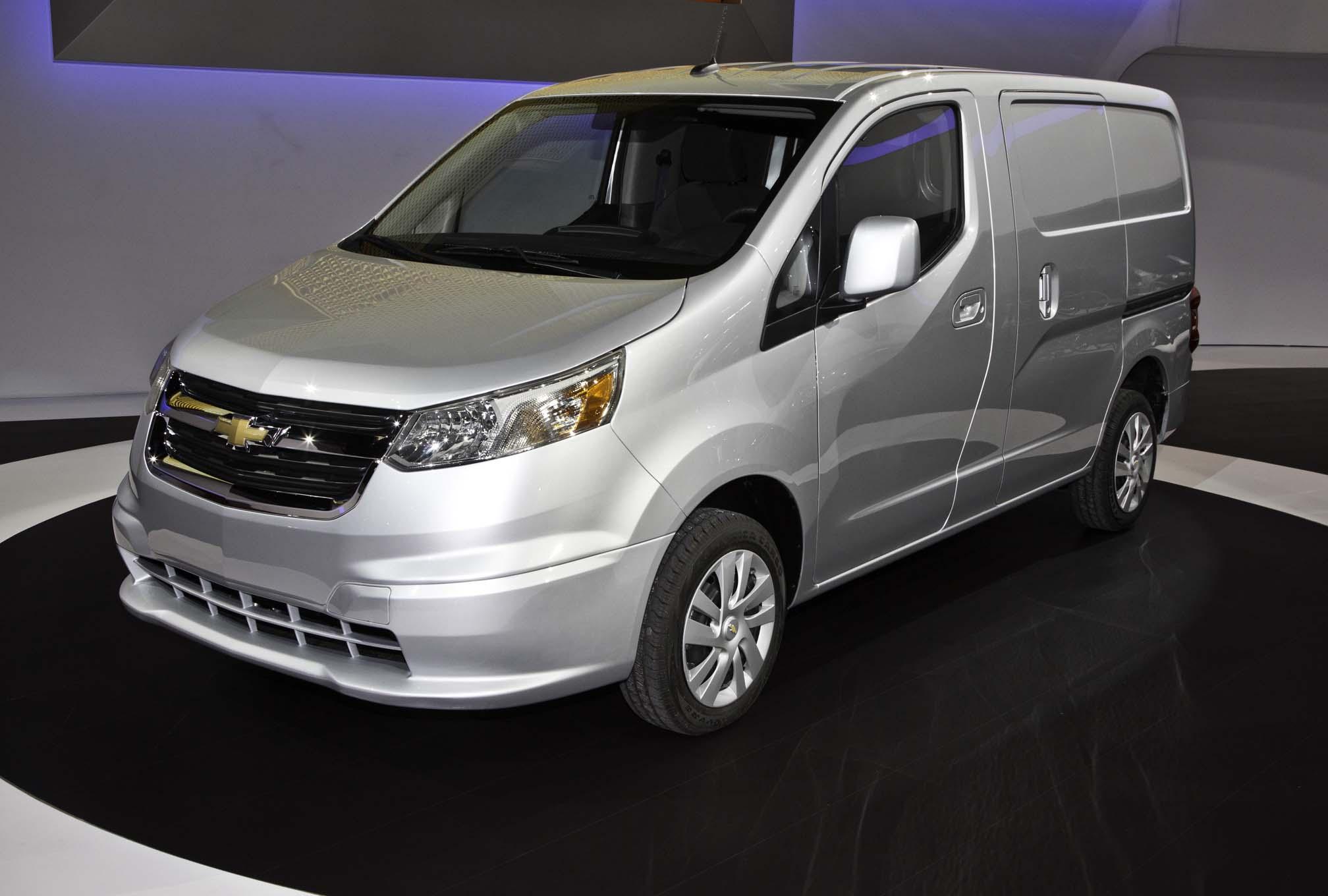 2015 Chevrolet City Express Front Three Quarters2