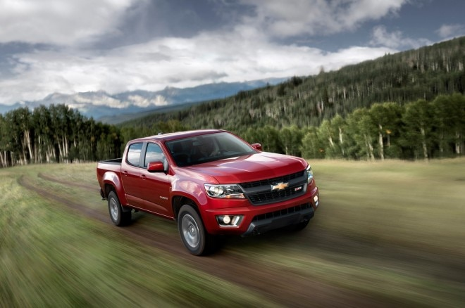 2015 Chevrolet Colorado Front End In Motion 660x438