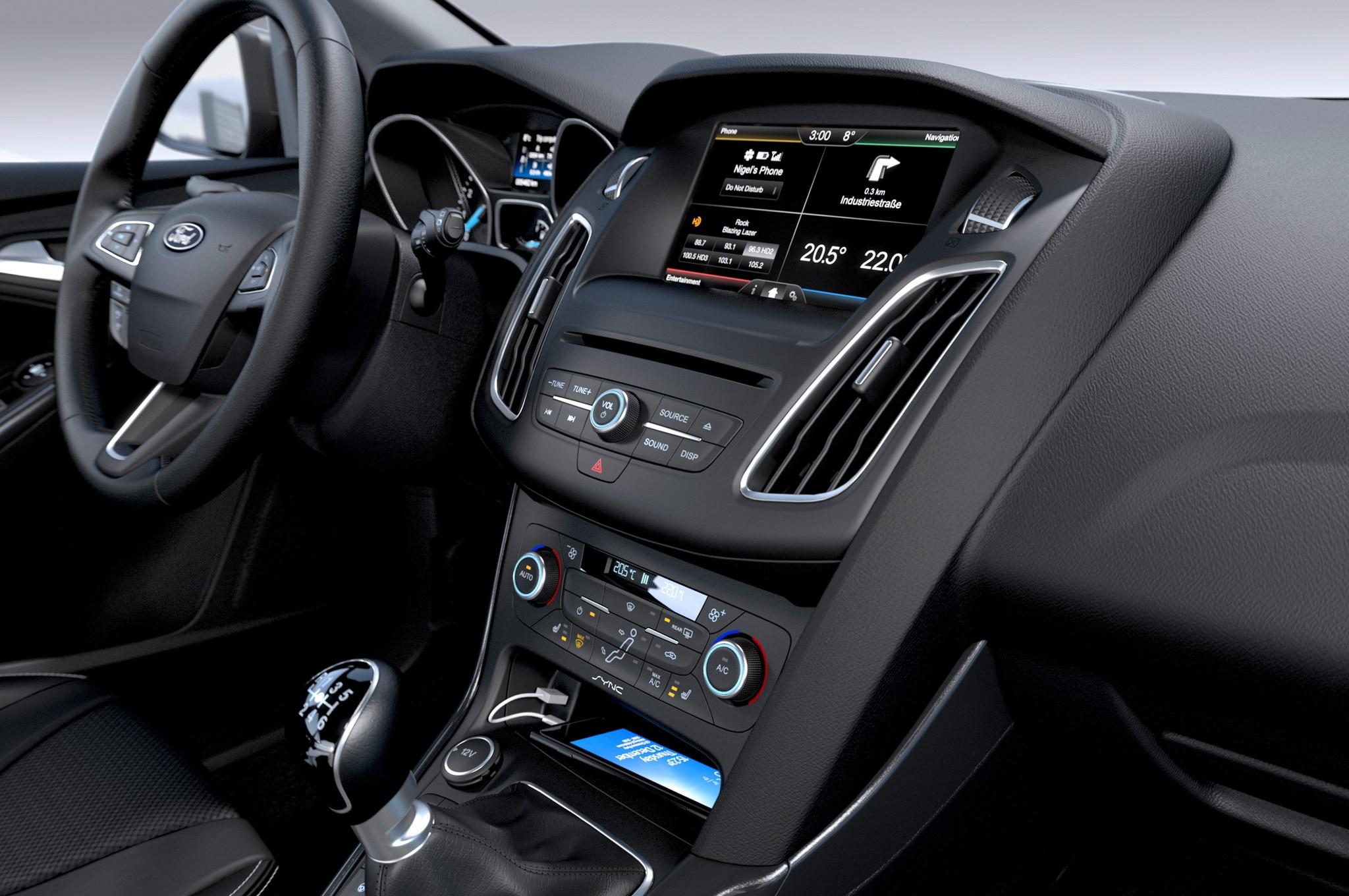 2015 ford focus hatchback interior center stack