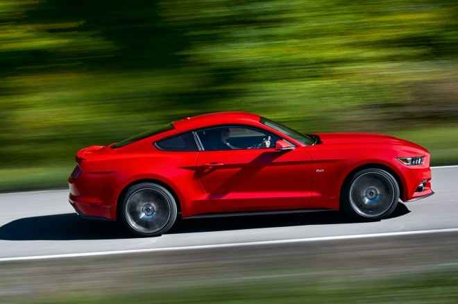 2015 Ford Mustang Side View In Motion1 660x438