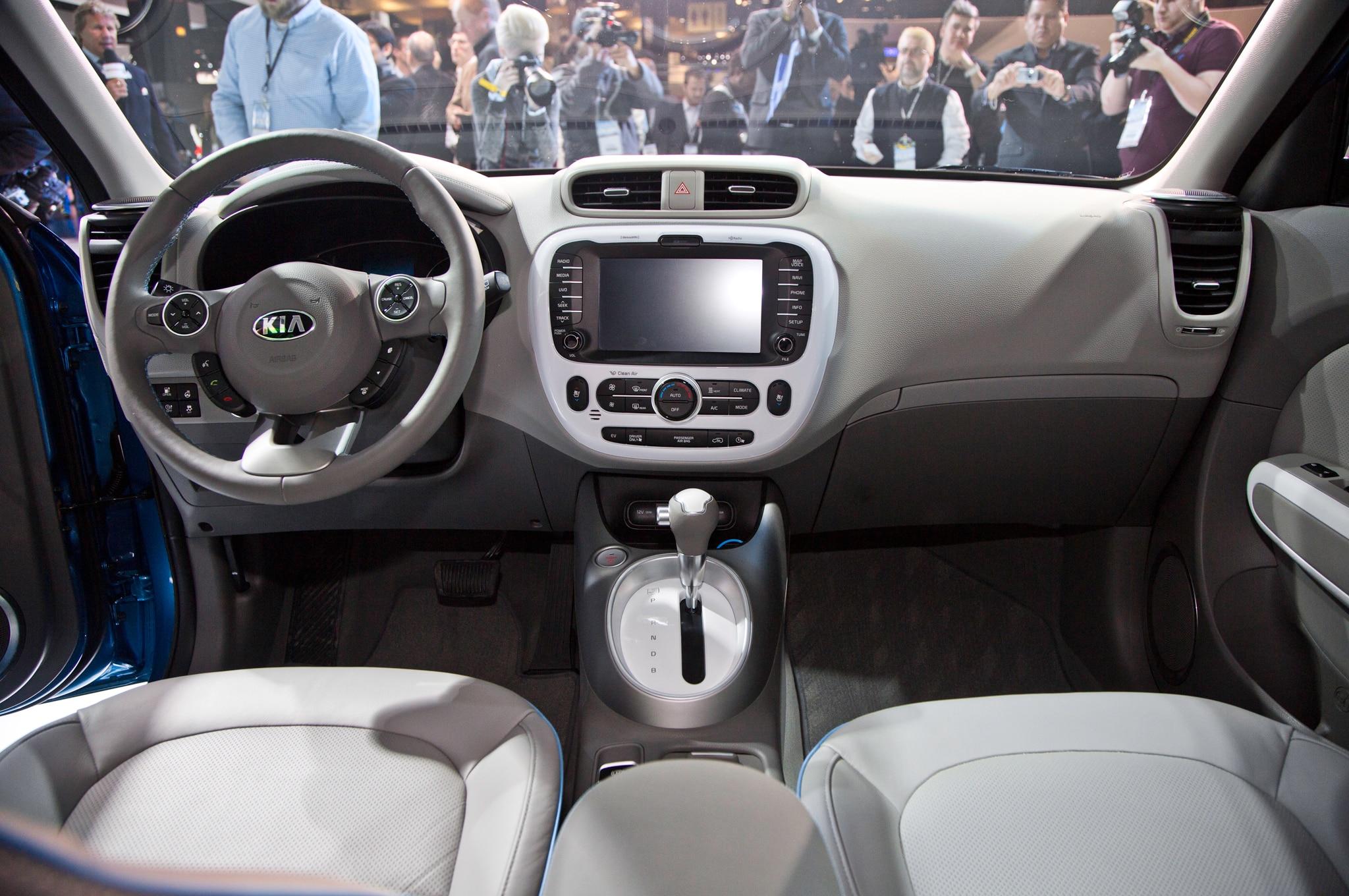 2015 Kia Soul EV Revealed at 2014 Chicago Auto Show  Automobile
