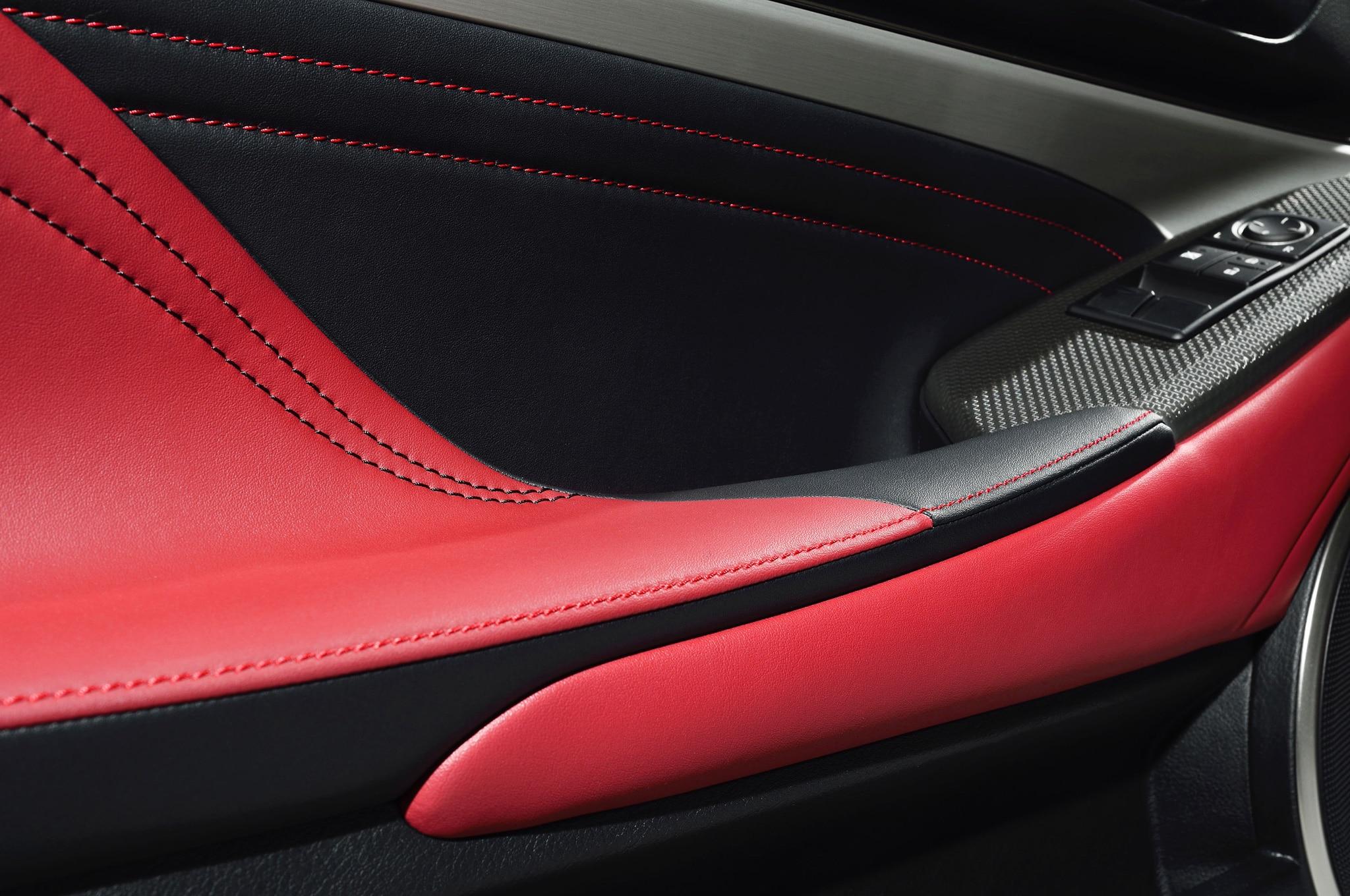 2015 lexus rc350 f sport rc f race car debut in geneva automobile for Lexus rx 350 f sport red interior