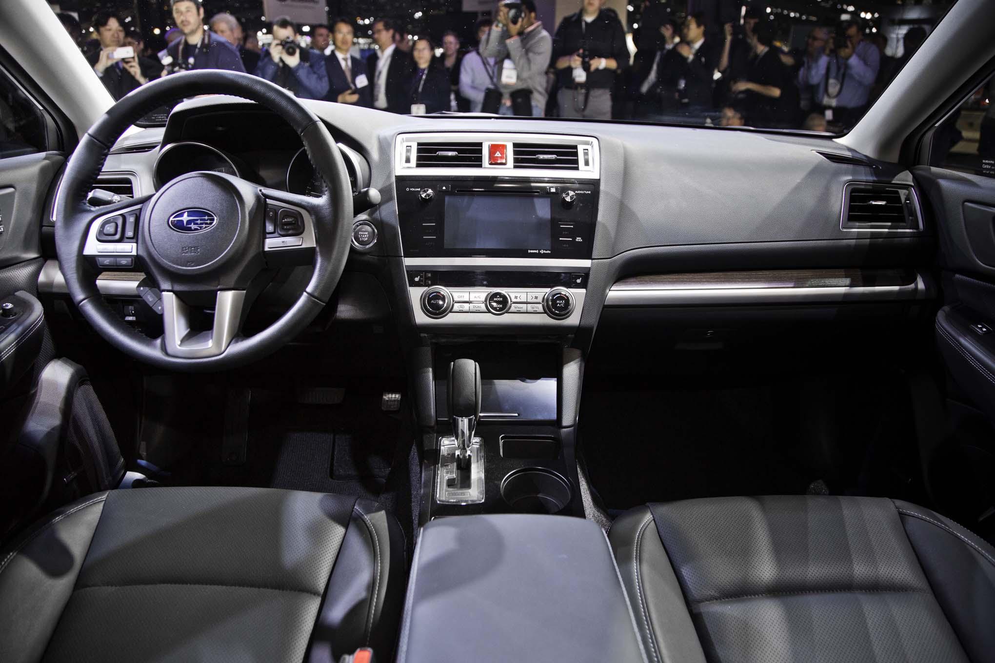 2015 subaru legacy debuts at 2014 chicago auto show - automobile