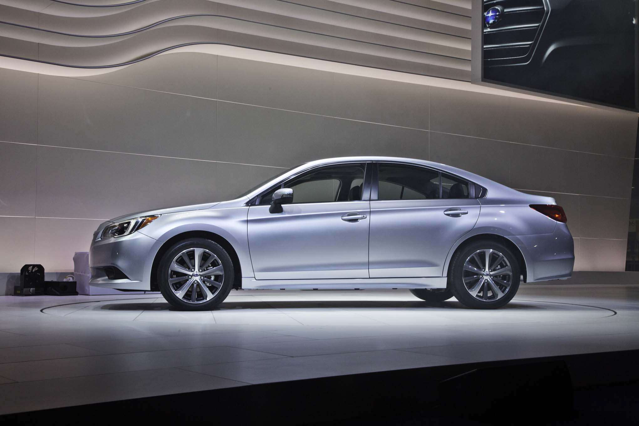 2015 subaru legacy debuts at 2014 chicago auto show automobile magazine. Black Bedroom Furniture Sets. Home Design Ideas
