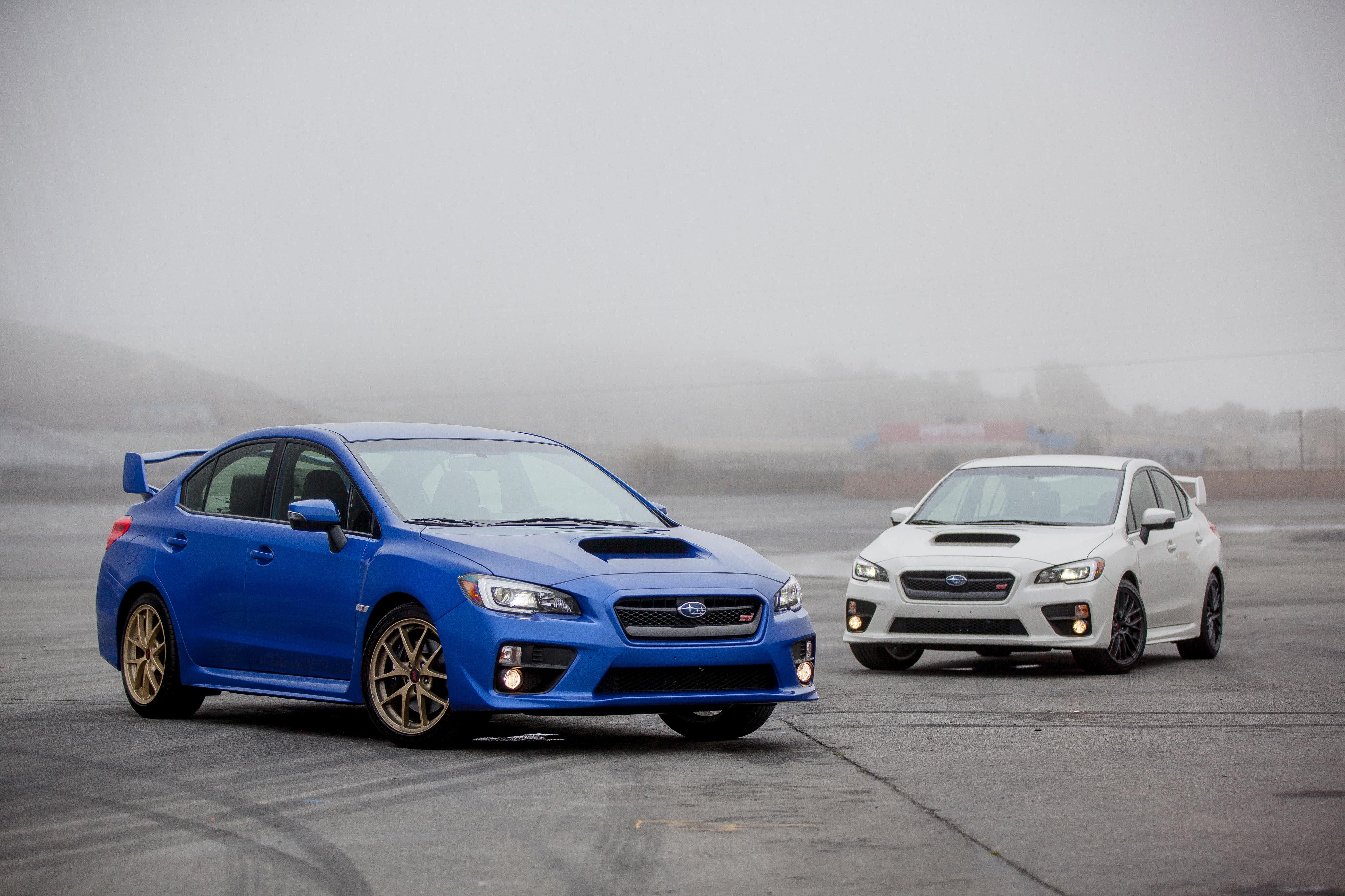 2015 Subaru WRX STI Front Three Quarter 02
