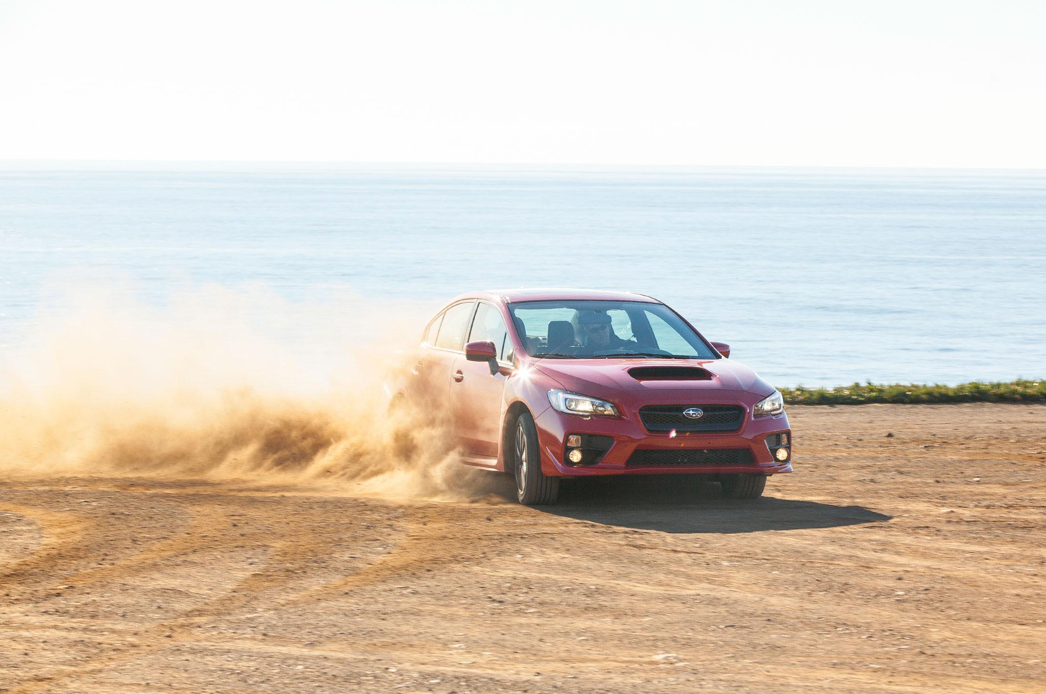 2015 Subaru WRX Front Right View 61