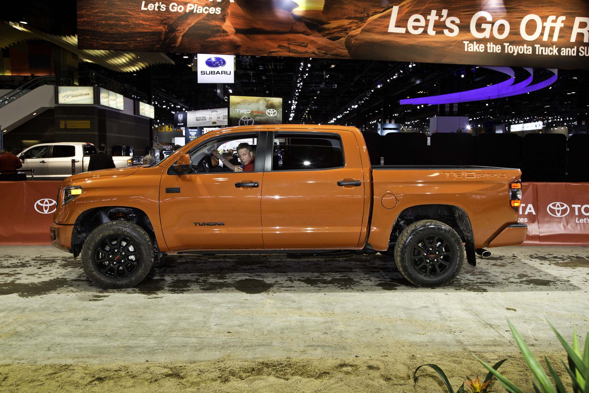 toyota trd pro series introduced for tundra tacoma 4runner automobile magazine. Black Bedroom Furniture Sets. Home Design Ideas