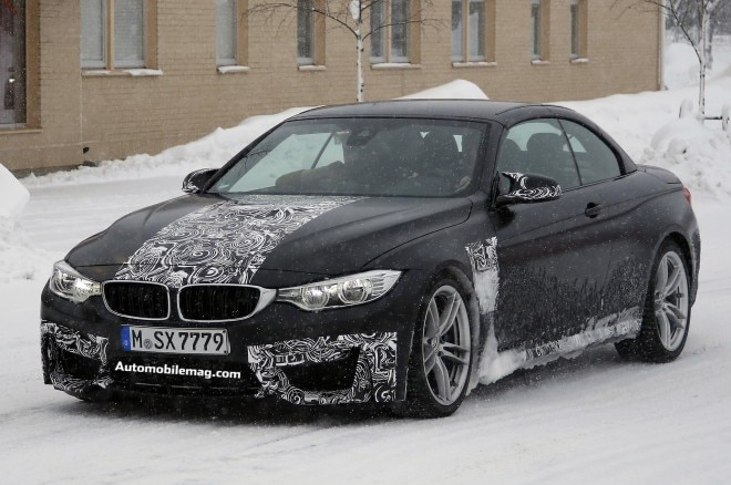 2015 Bmw M4 Convertible Spied Front Three Quarter 21 660x438