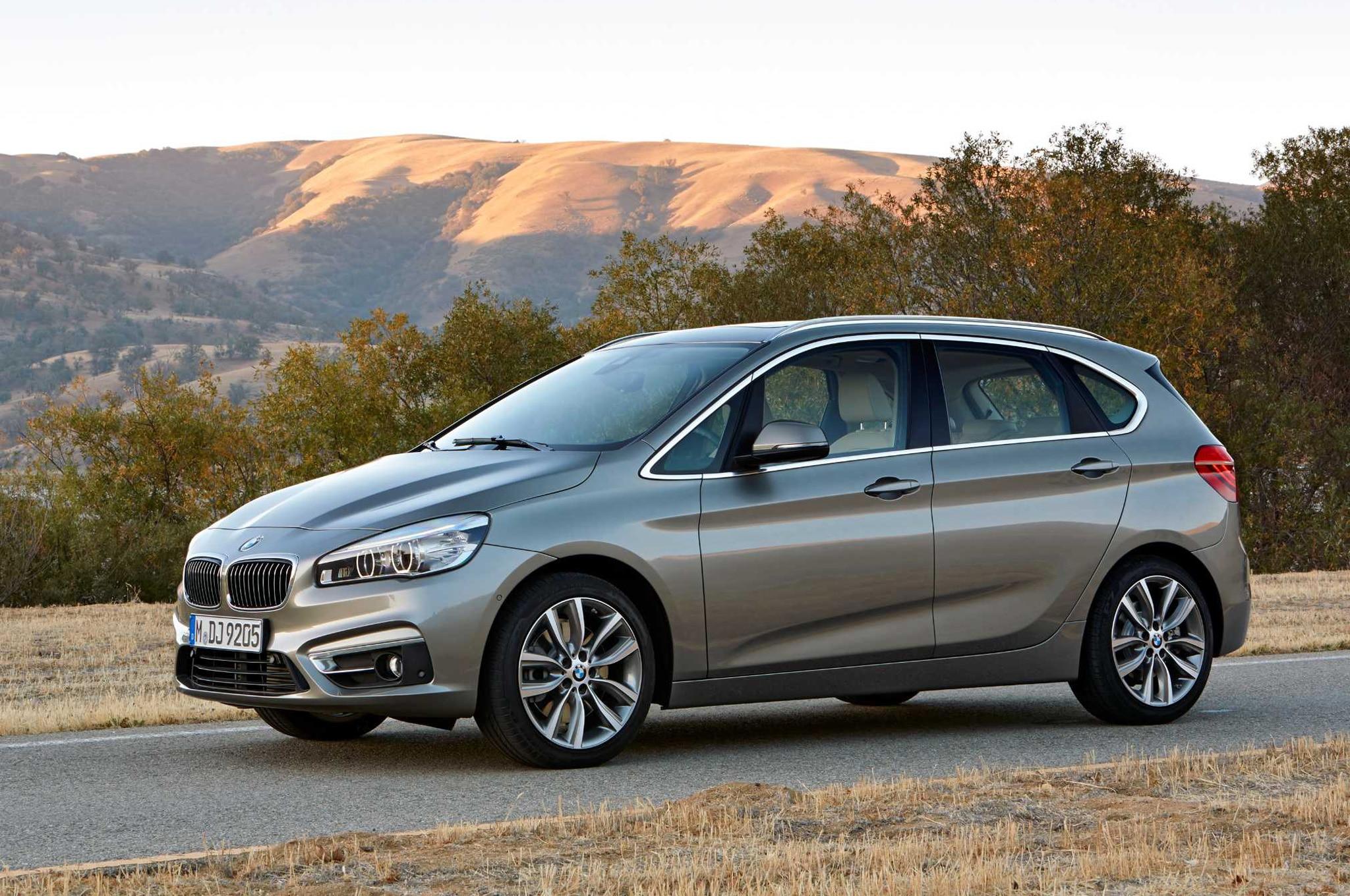 BMW 2 Series Active Tourer Detailed Ahead of 2014 Geneva Auto Show