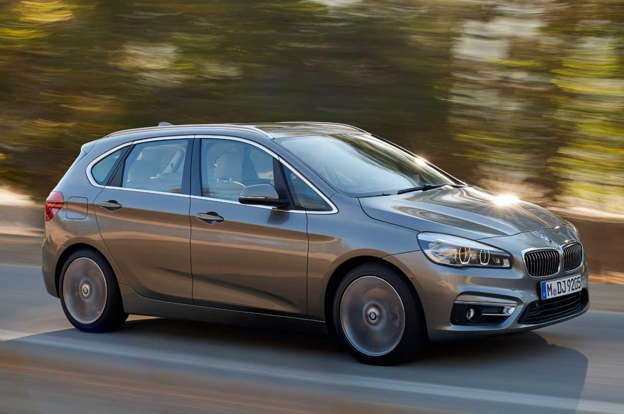 2016 BMW 2 Series Active Tourer In Motion 21