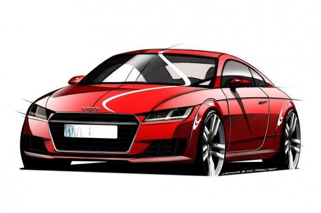 2016 Audi Tt Sketch Front1 660x438