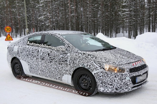 2016 Chevrolet Cruze Spied Front Three Quarter 51 660x438