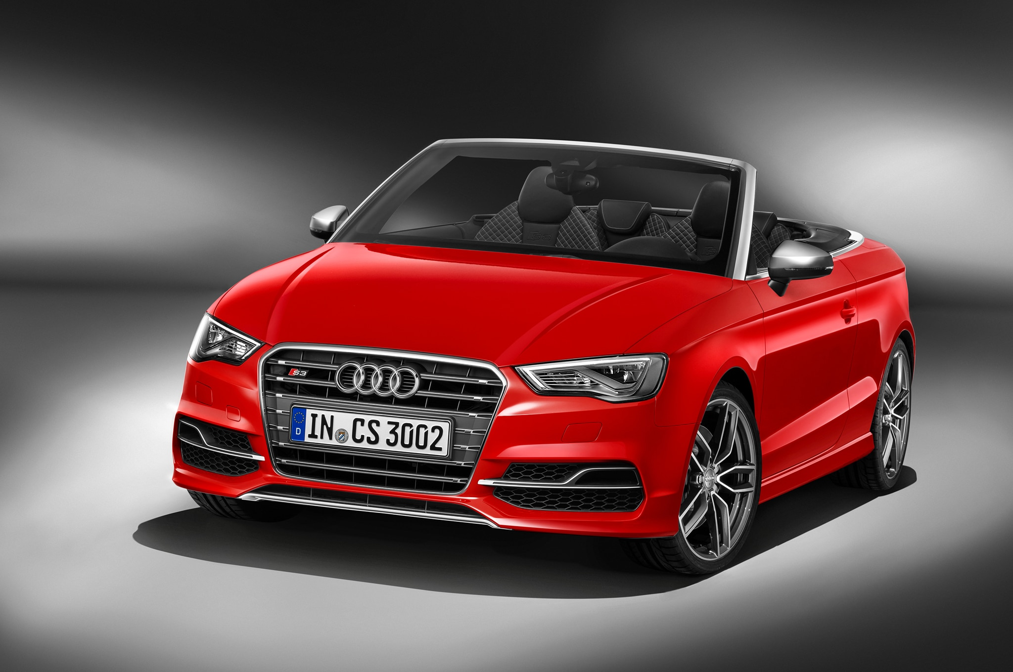 Audi S3 Cabriolet Front Three Quarters1