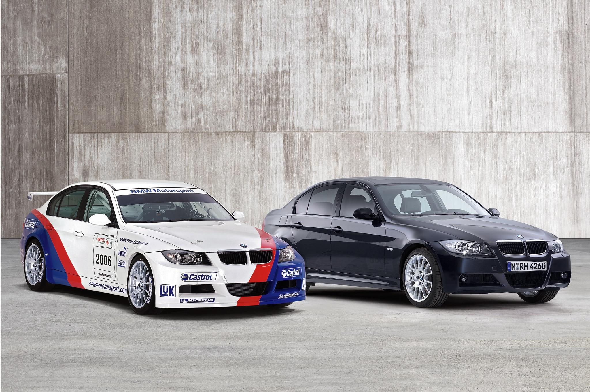 BMW 320si Front Three Quarters