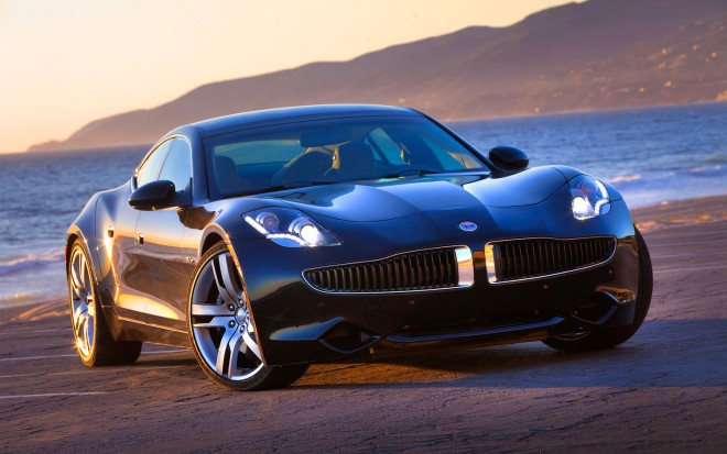 Fisker Karma Black Right Front Angle 660x413