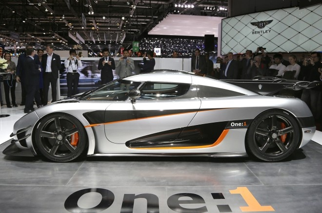 Koenigsegg Agera One 1 Side1 660x438
