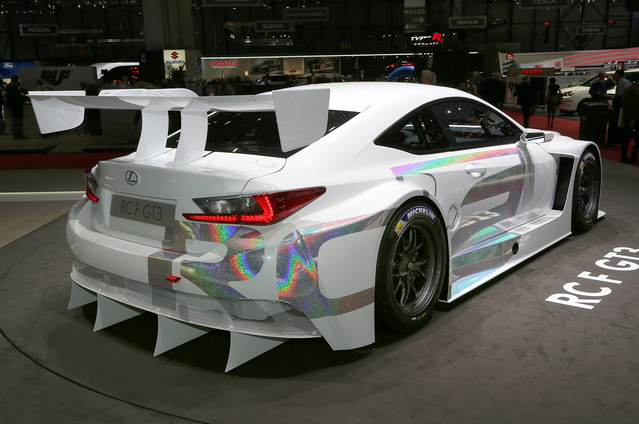 Lexus RC F GT3 Concept Rear Three Quarter1