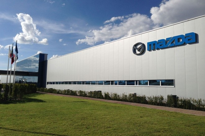 Mazda De Mexico Vehicle Operation Facility Front 660x438