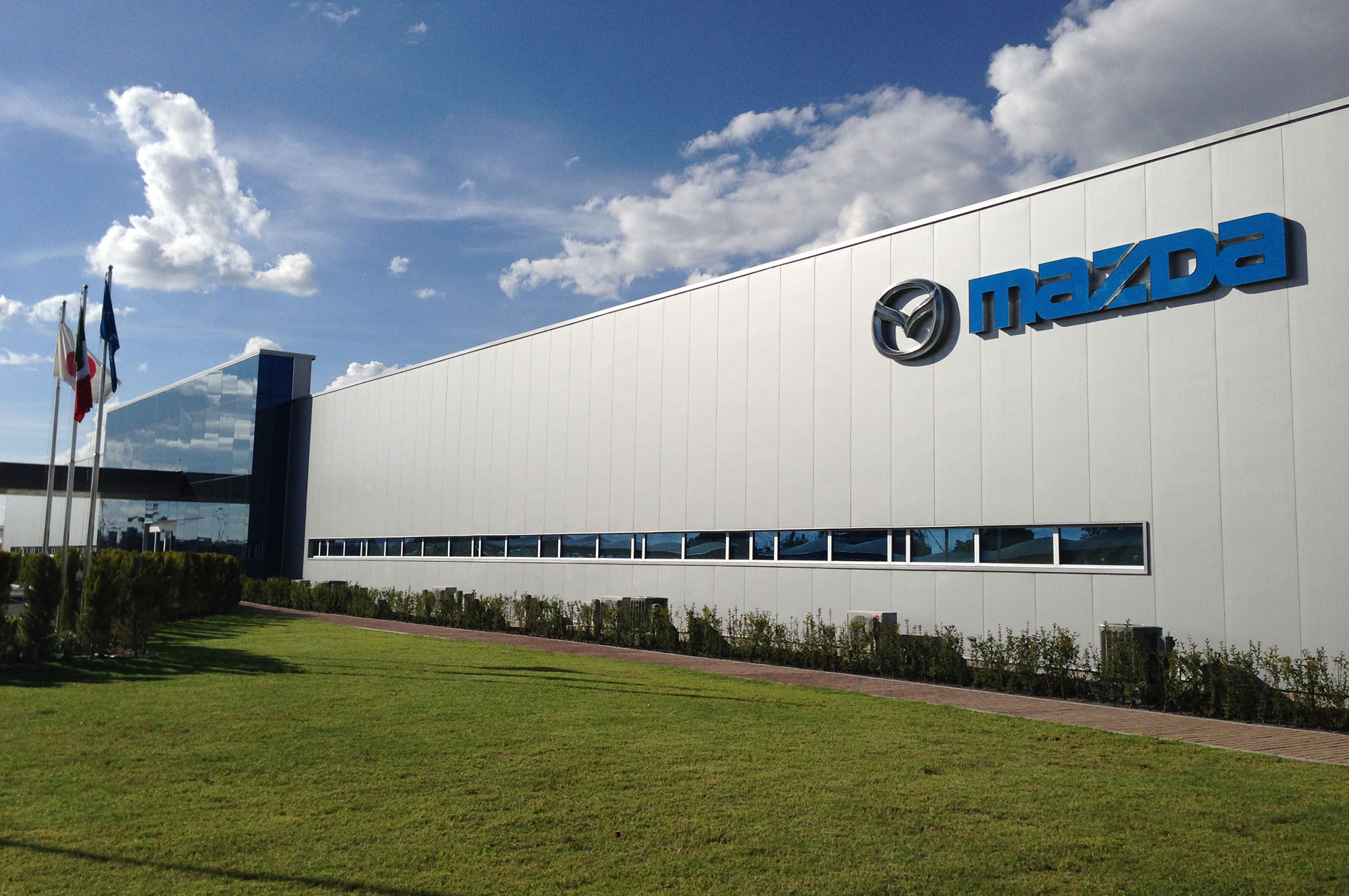 Mazda De Mexico Vehicle Operation Facility Front