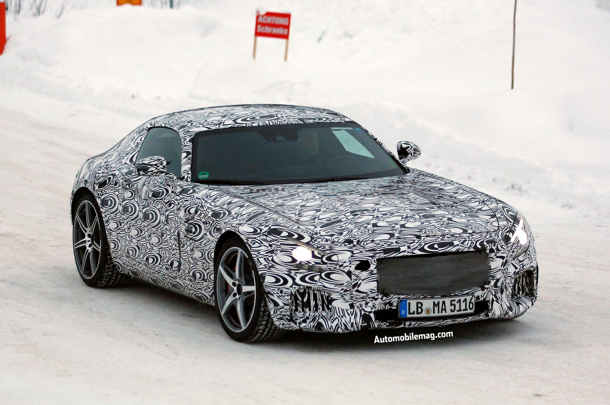 Mercedes Benz Amg Gt Spy Front Three Quarter 21