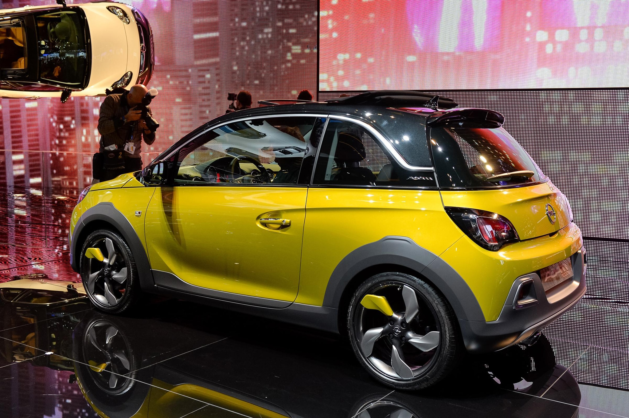opel adam rocks headed to 2014 geneva auto show. Black Bedroom Furniture Sets. Home Design Ideas