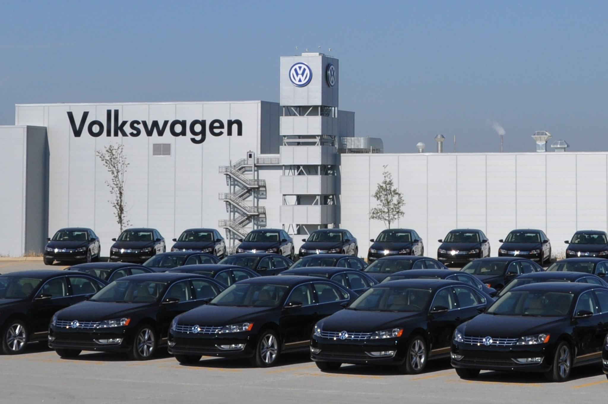 Volkswagen Chattanooga Plant Front