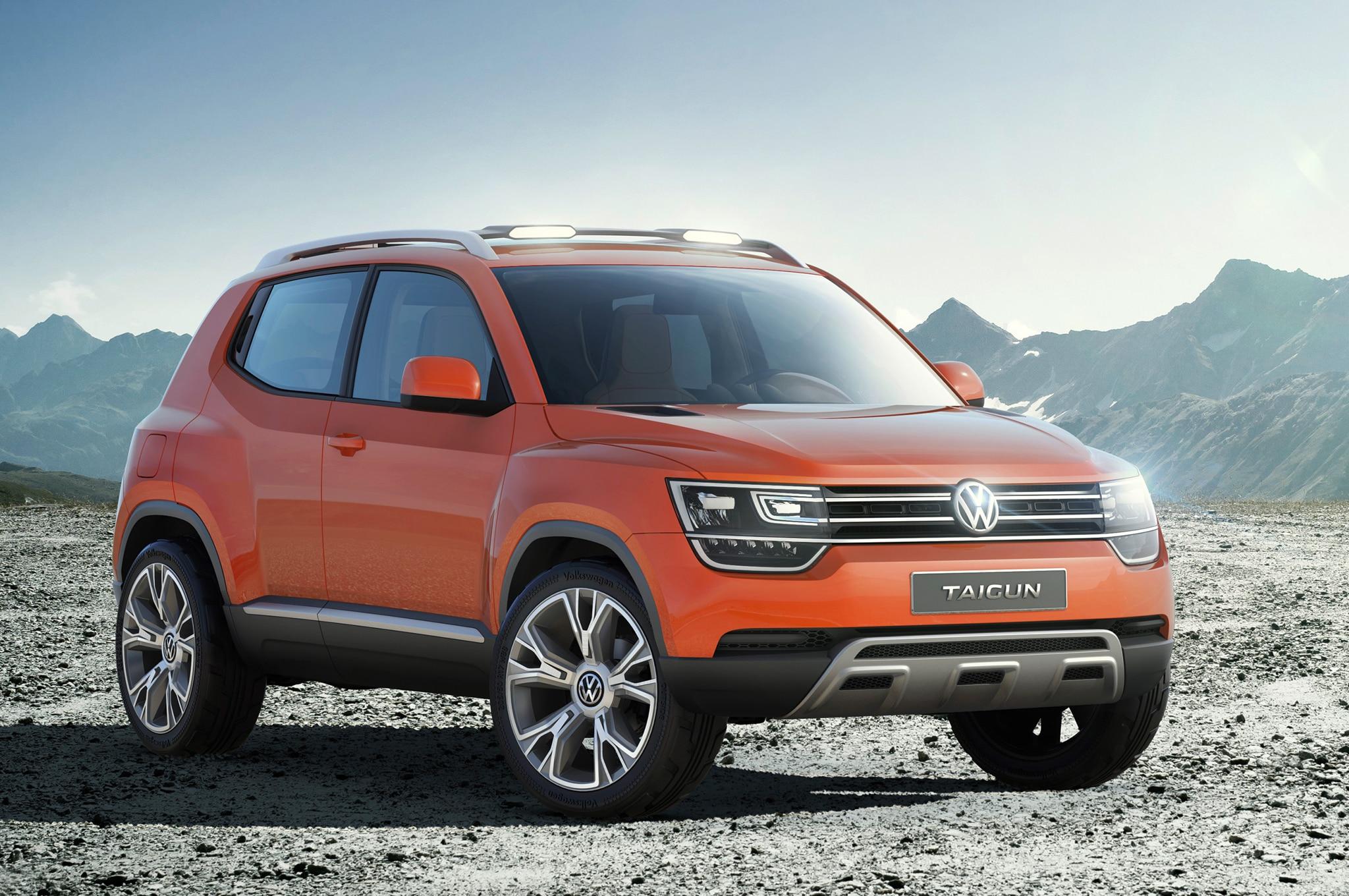 Volkswagen Taigun Concept Front1