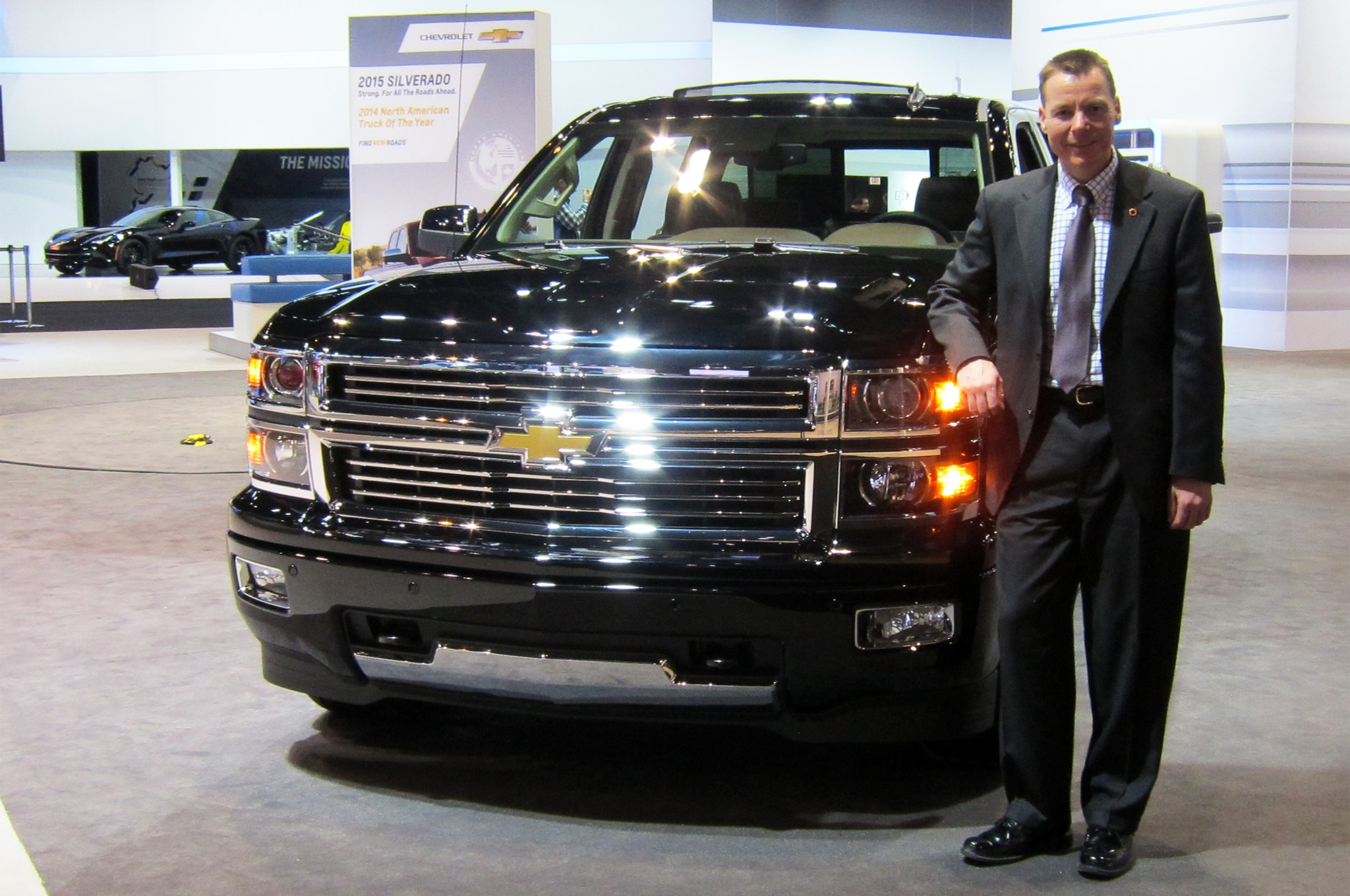 Jeff Luke With 2014 Chevrolet Silverado