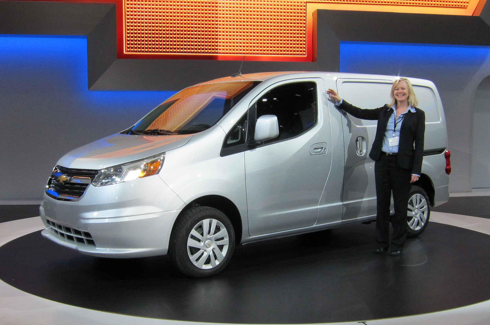 Joyce Mattman With 2015 Chevrolet City Express