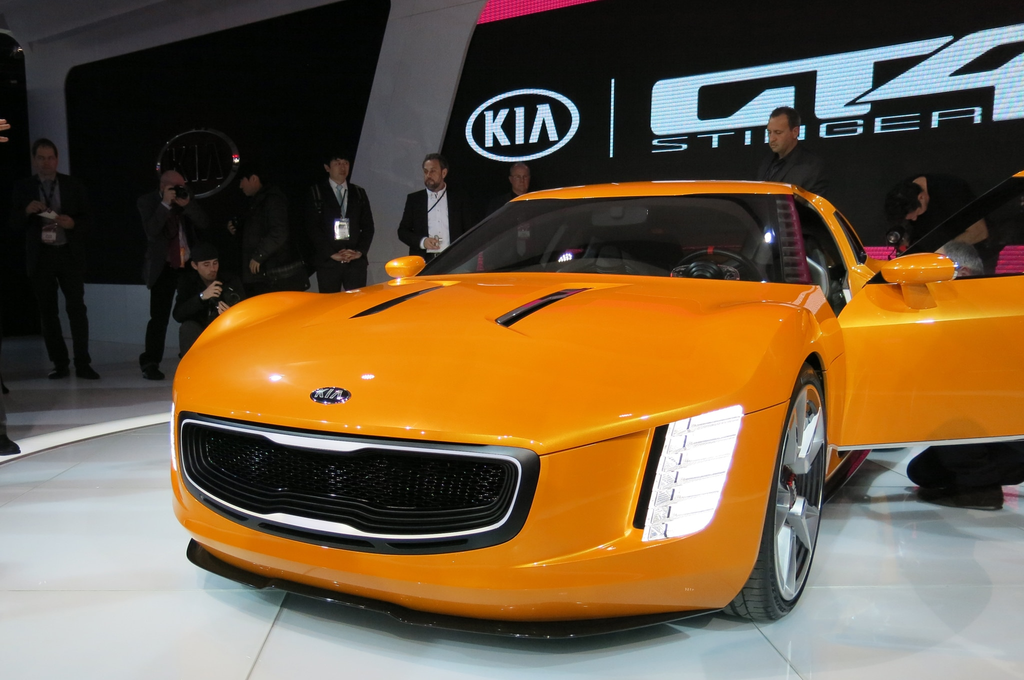Kia Gt4 Stinger Concept Front Close