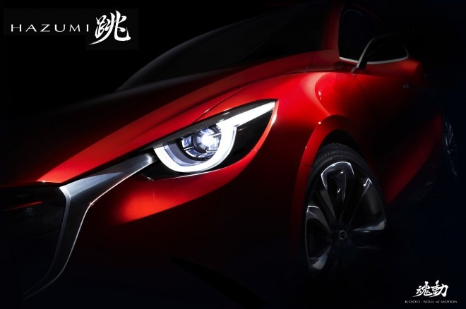 Mazda Hazumi Concept Teaser 660x438