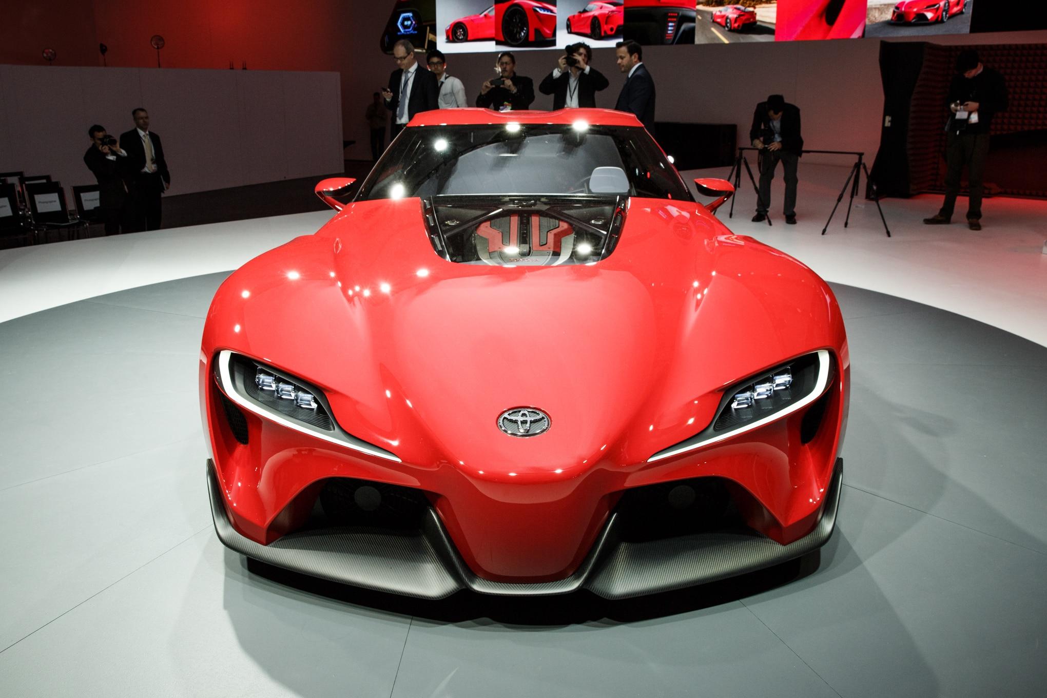Toyota Ft 1 Concept Detroit Front1