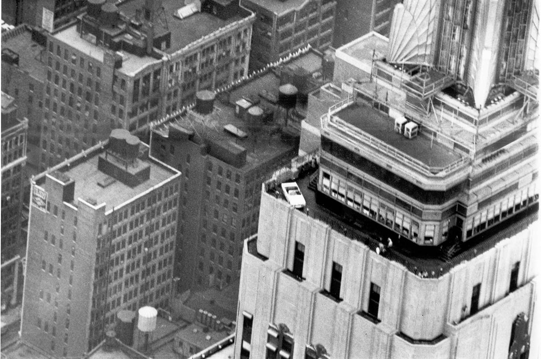 1966 Ford Mustang At Empire State Building1