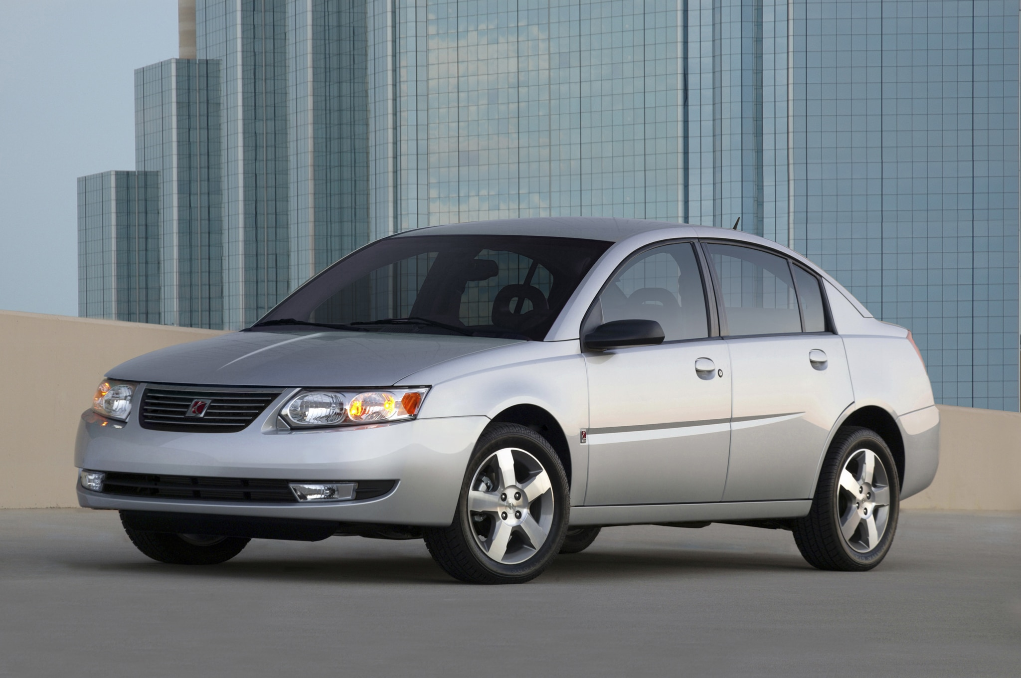 2007 Saturn Ion Front Three Quarter1
