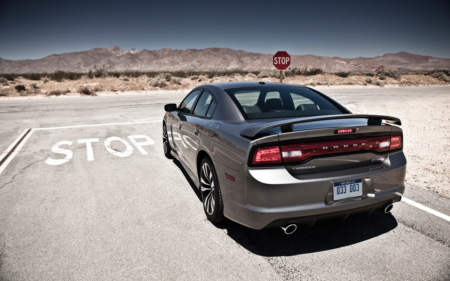 2012 Dodge Charger SRT8 Rear End1