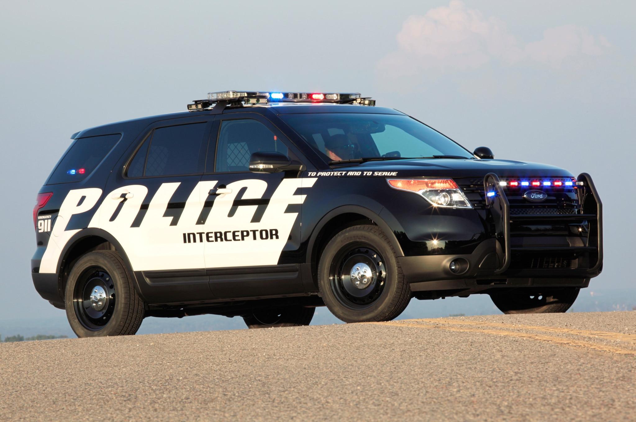 2013 Ford Police Interceptor Utility1