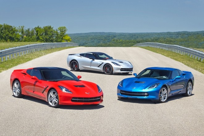 2014 Chevrolet Corvette Stingray Front View1 660x440