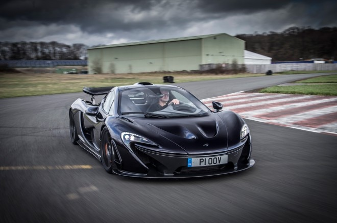2014 McLaren P1 Todd Lassa Driven Cornering Front Three Quarters View3 660x438