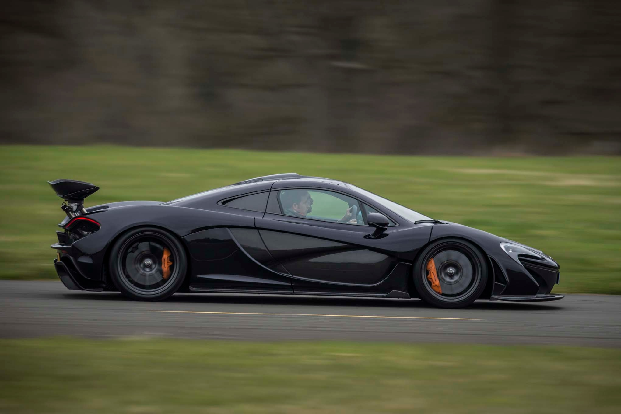 Exceptional McLaren P1 Open Doors Fire Abstract Car 2013 | El Tony