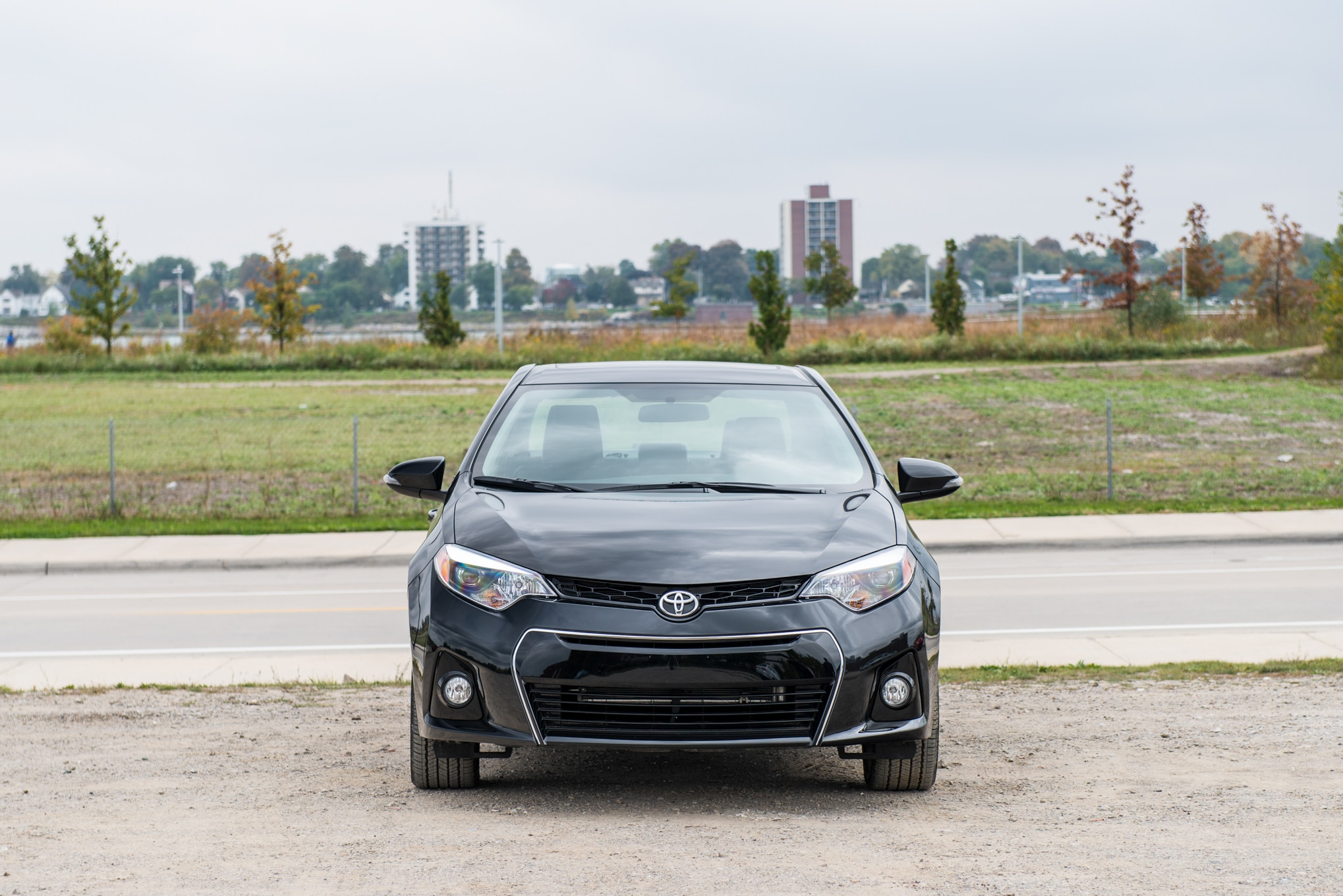 2014 Toyota Corolla S Plus Front View