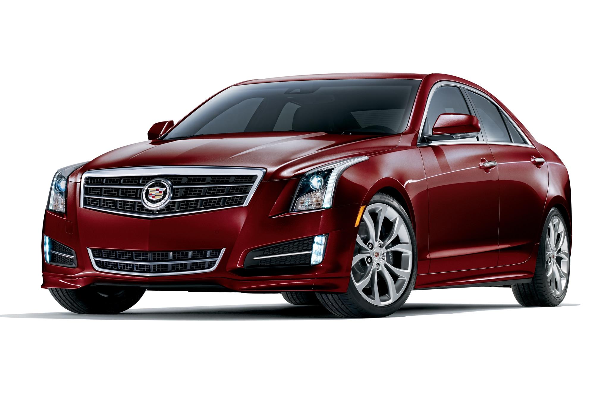 2014 Cadillac Ats Crimson Sport Edition Front Three Quarters1